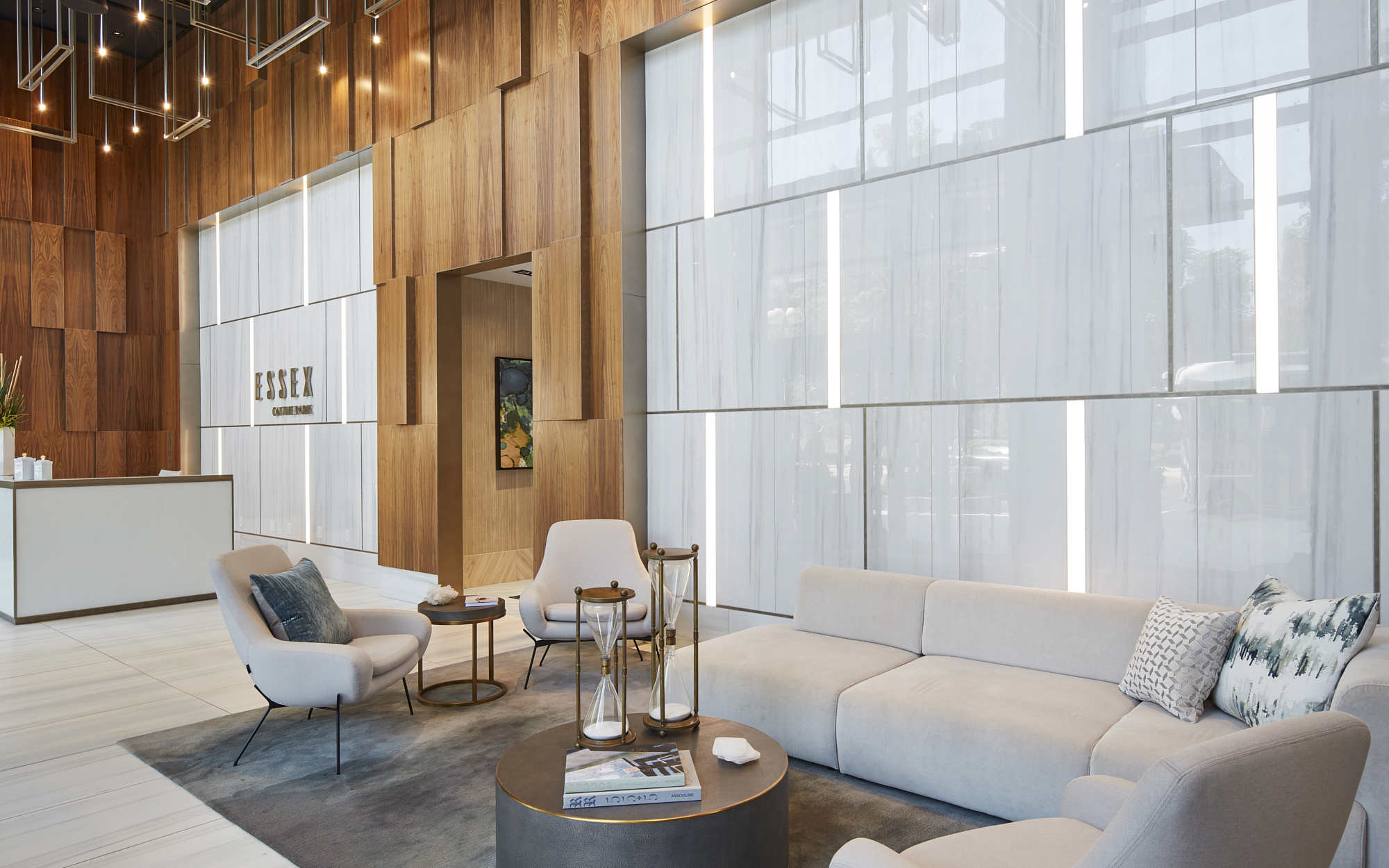 Essex lobby and waiting area