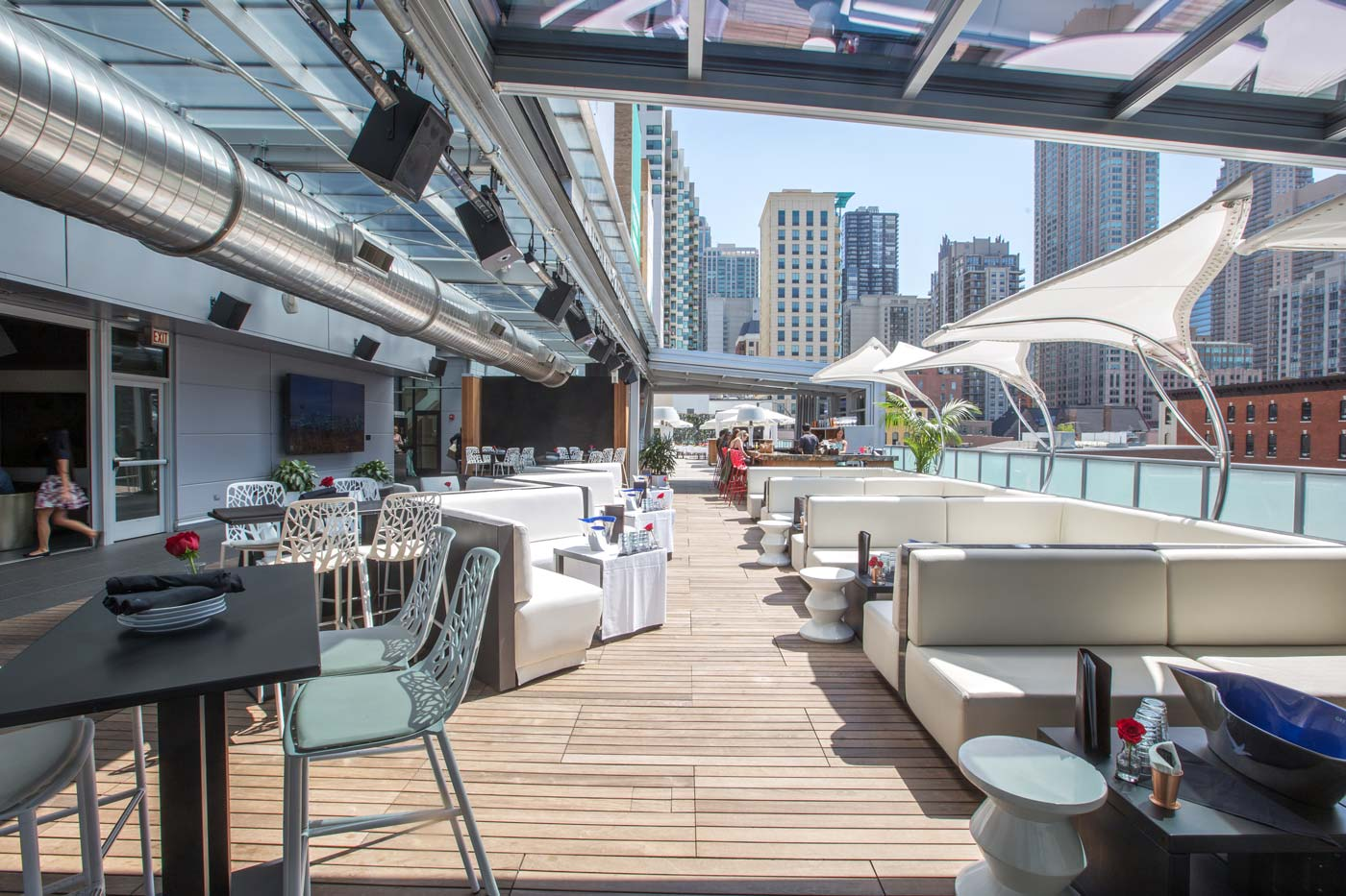 Godfrey chicago retractable roof