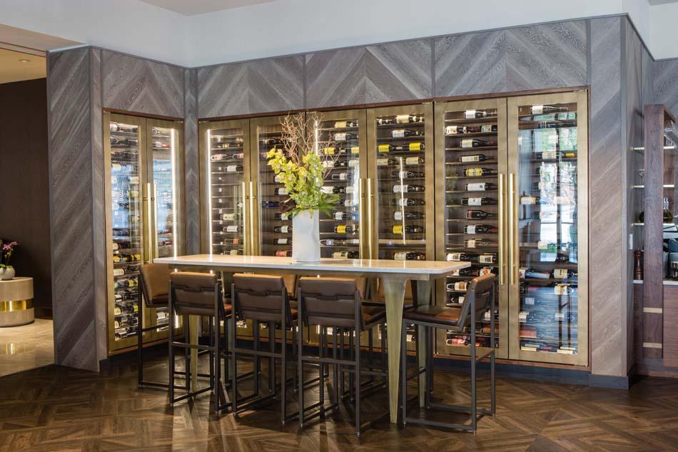 Godfrey Chicago wine cellar