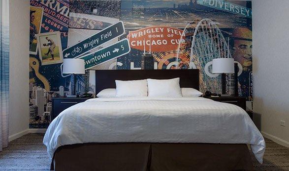 Hotel Versey single king bed room