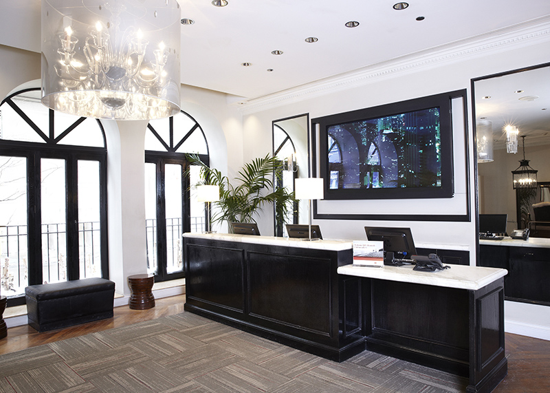 Hotel Cass lobby
