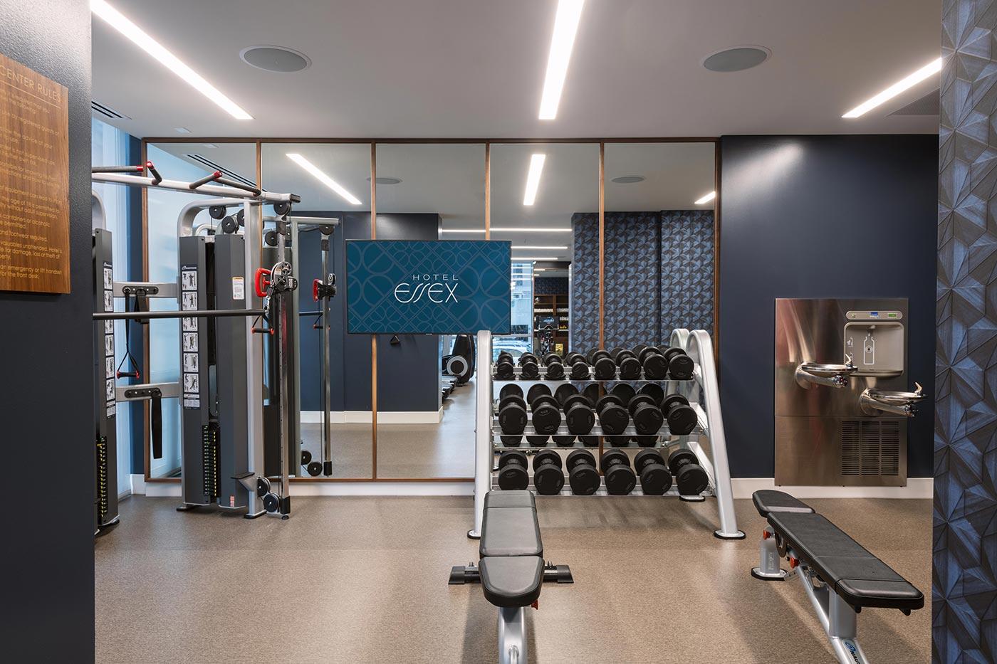 Hotel Essex gym