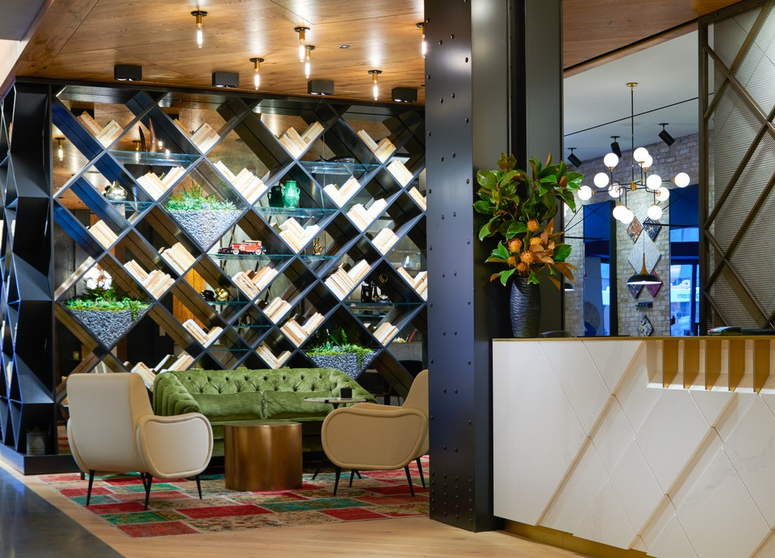 Hotel Julian lounge space in lobby