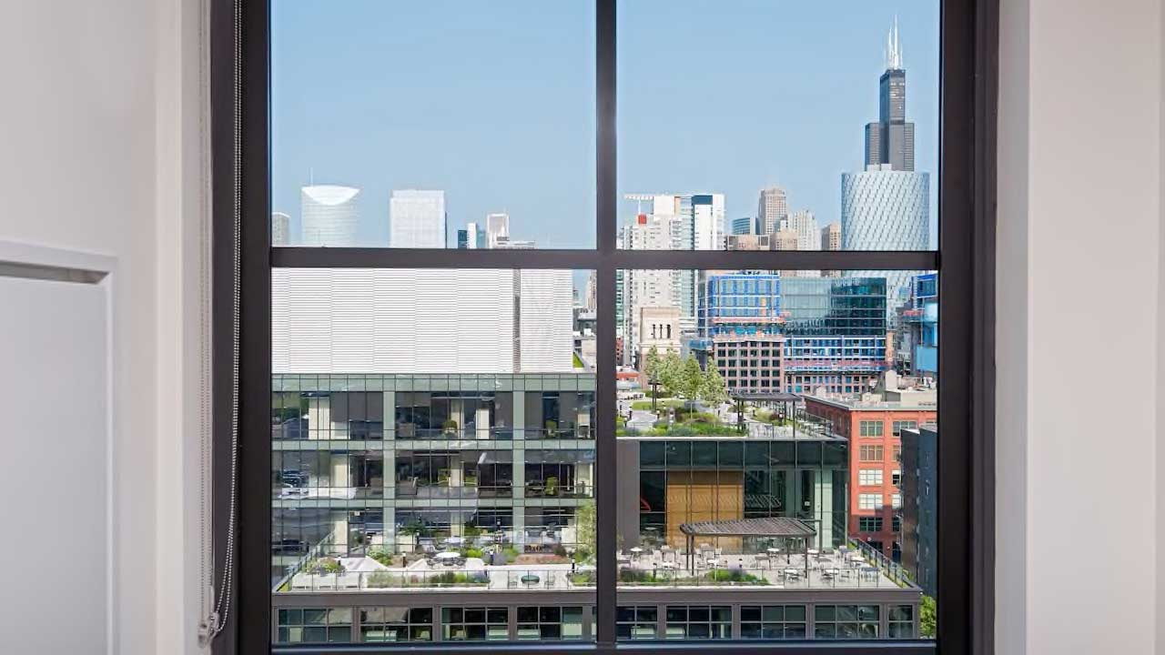 Hyatt House window shot