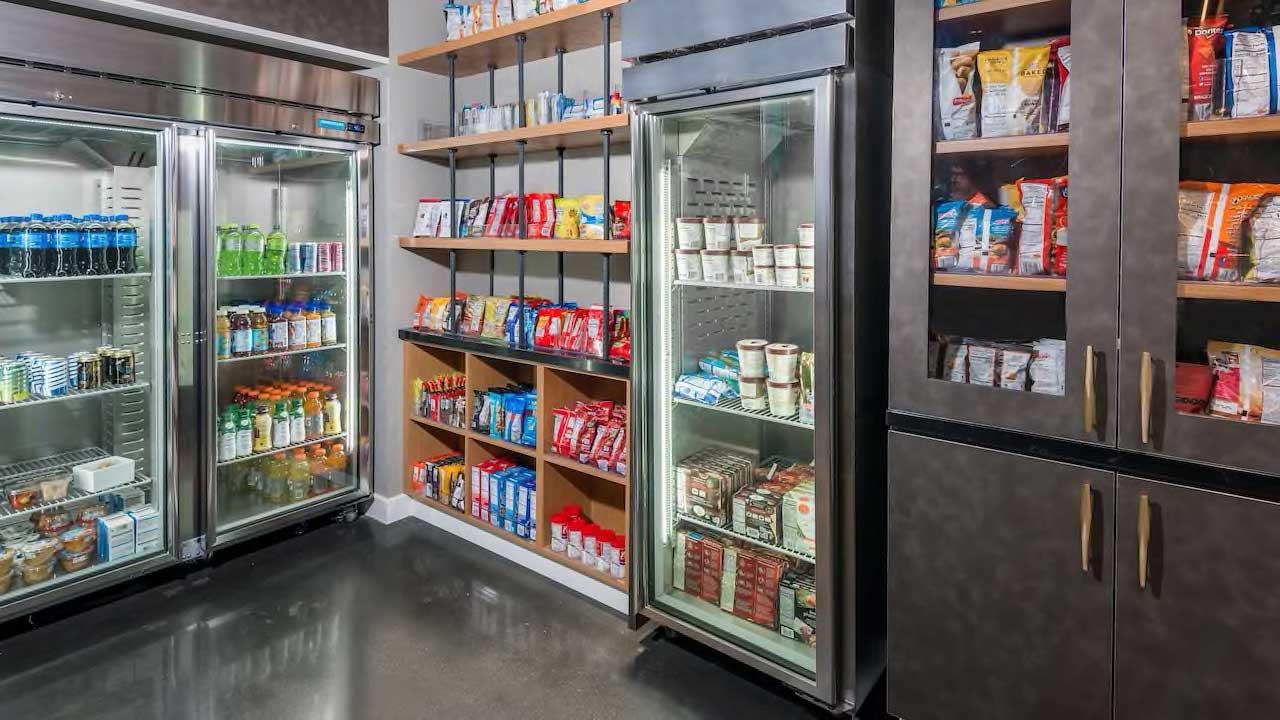 Hyatt House snack pantry