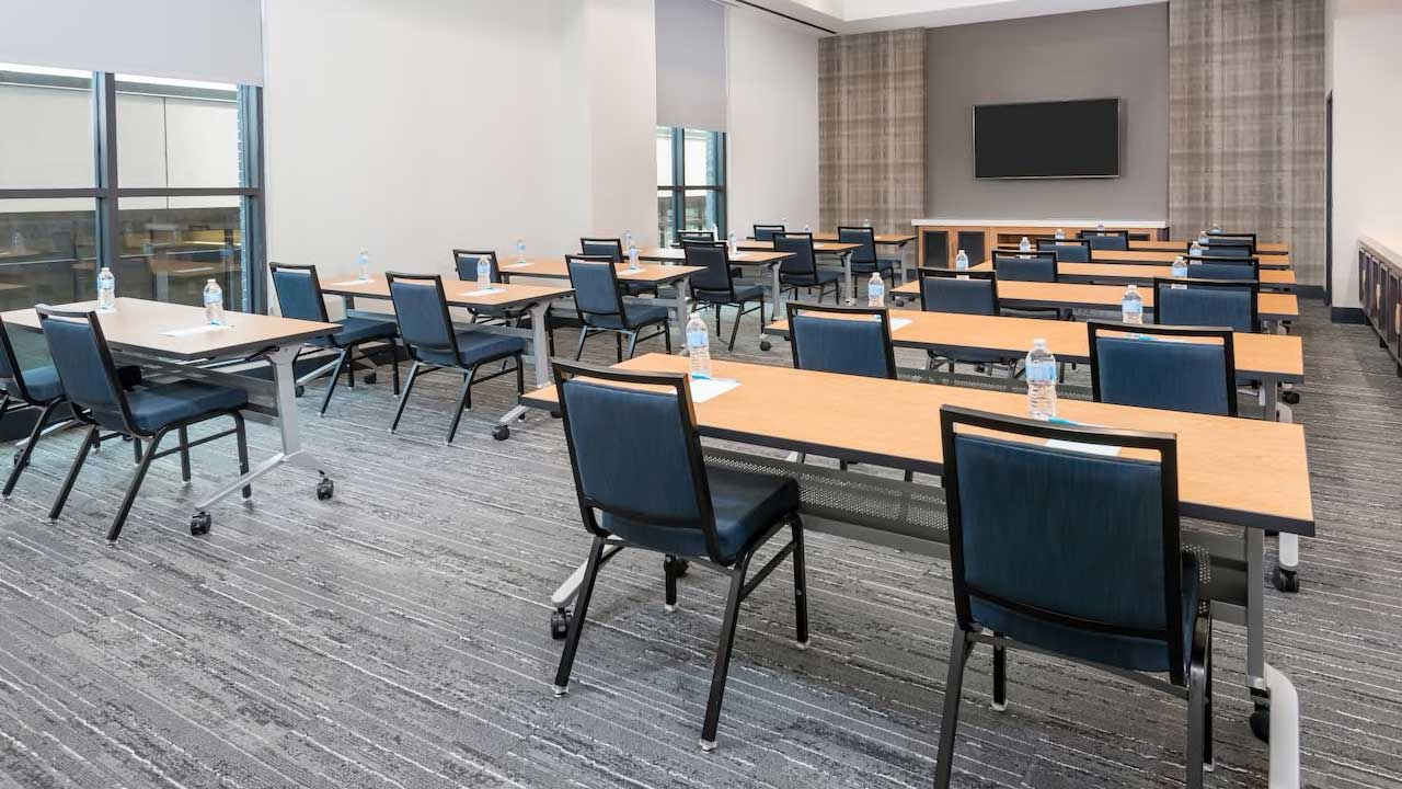 Hyatt house Classroom meeting room setup