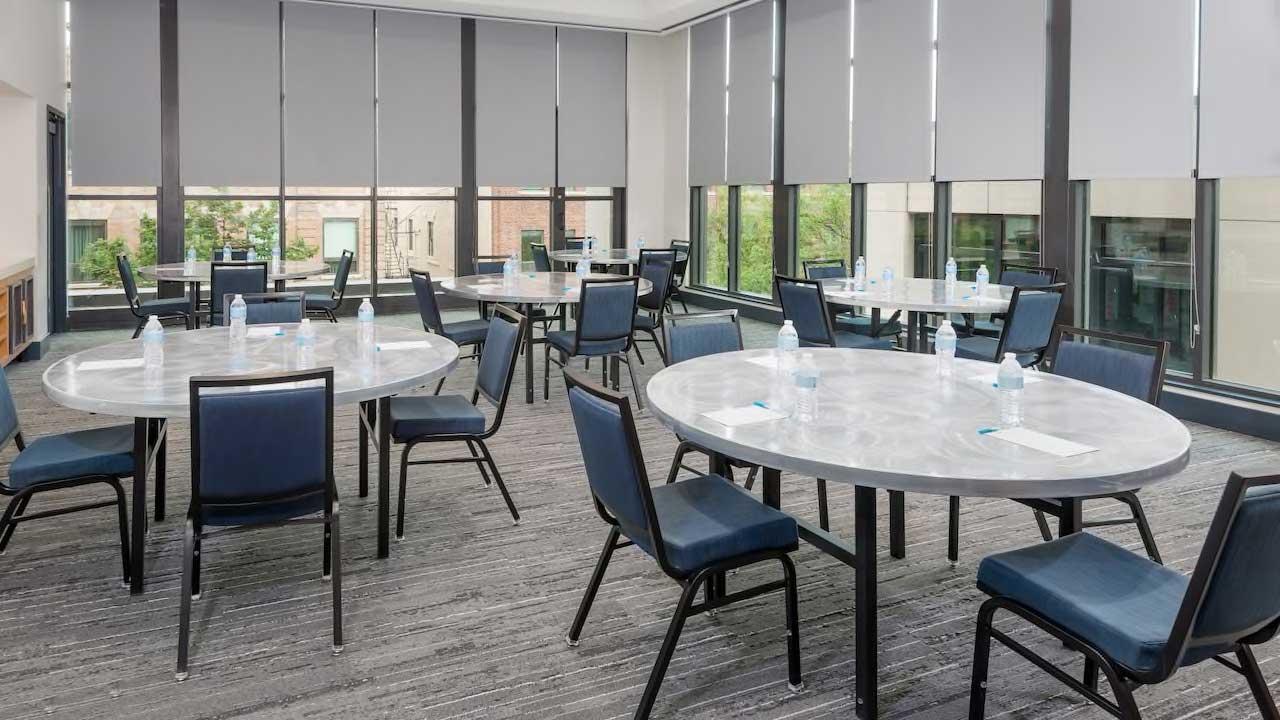 Hyatt House Round table meeting room