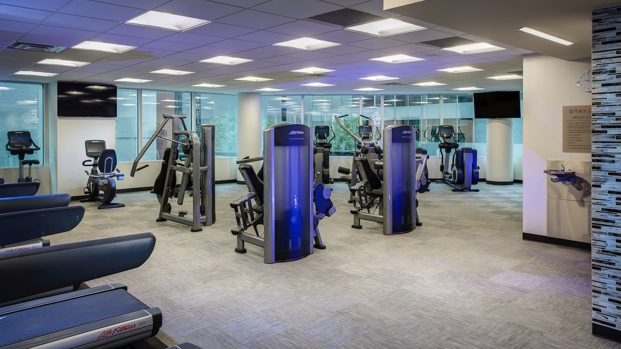 Hyatt fitness center