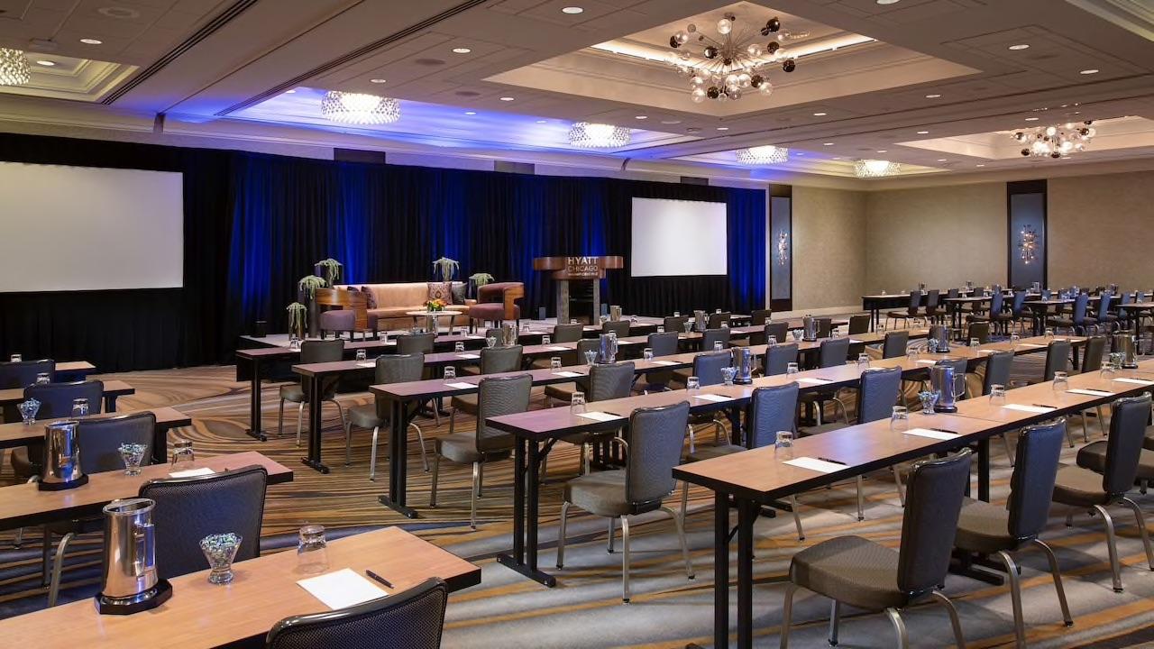 Hyatt grand ballroom