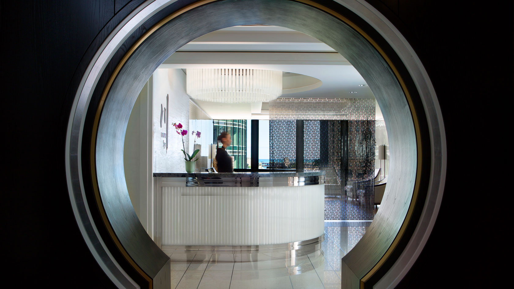 Chuan spa circle entry and front reception