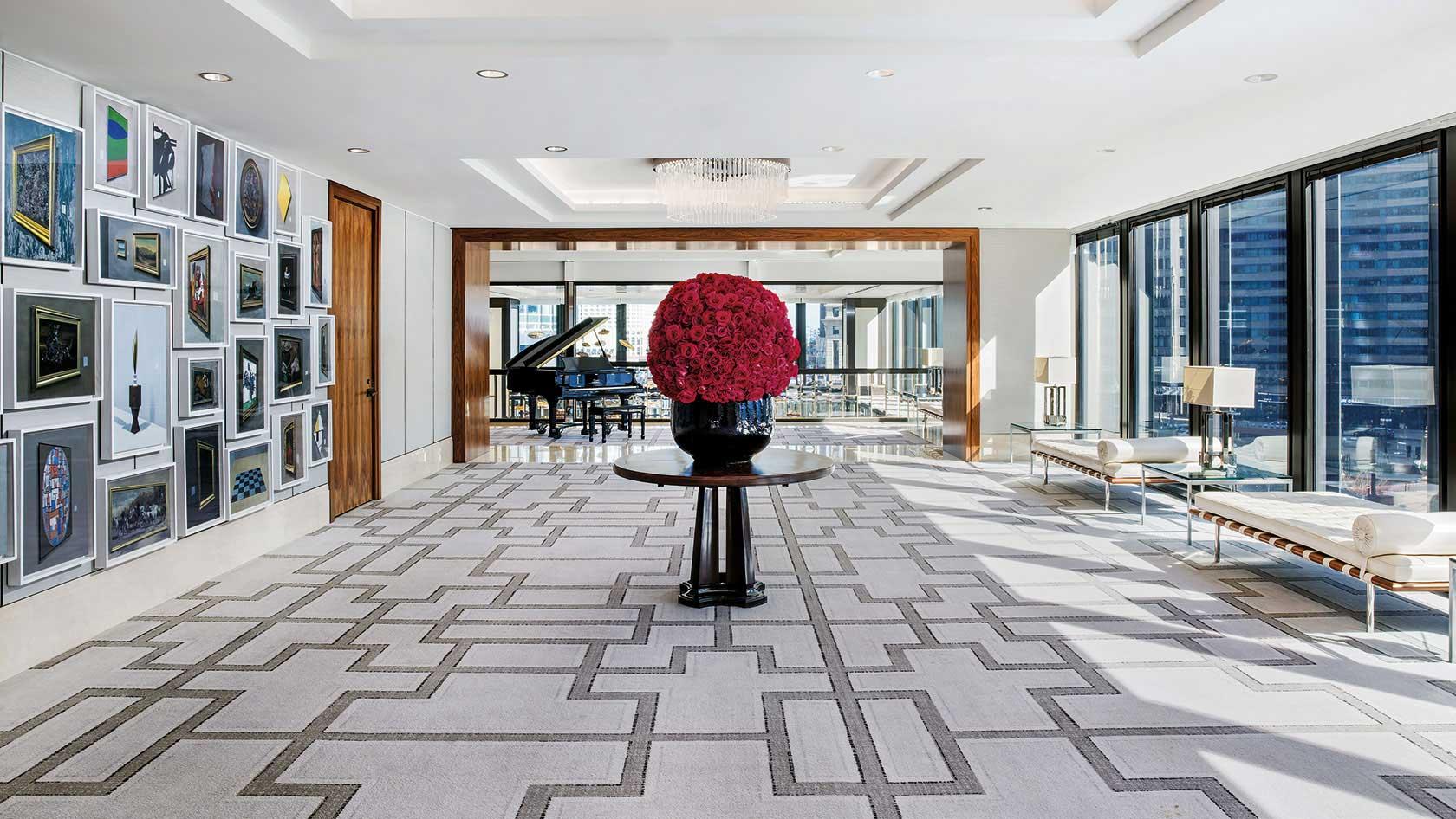 Devonshire ballroom pre-function area