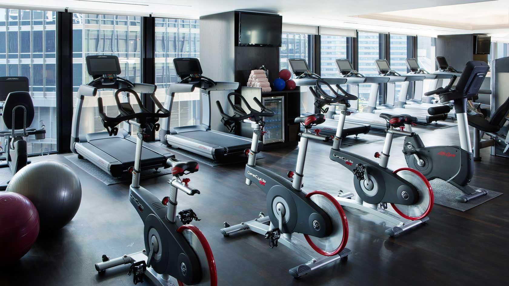 Langham fitness center