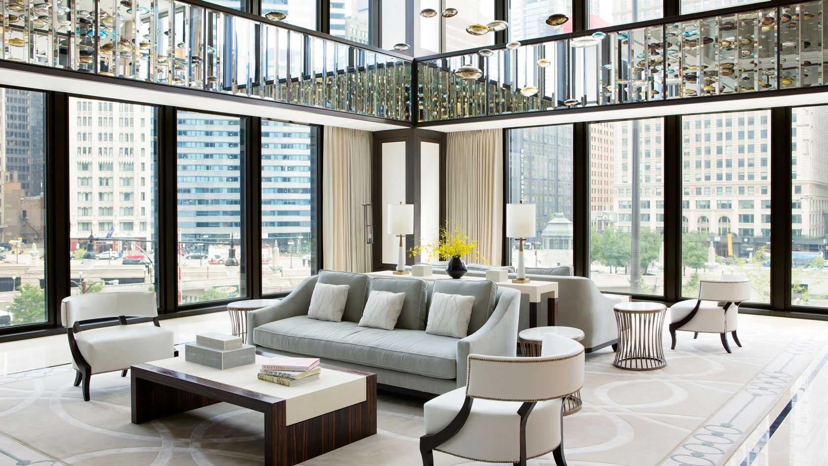 Langham lobby lounge
