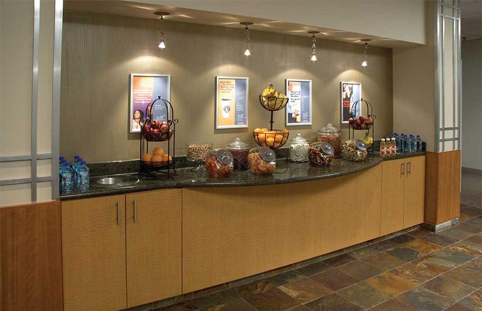 National Conference Center snack break station