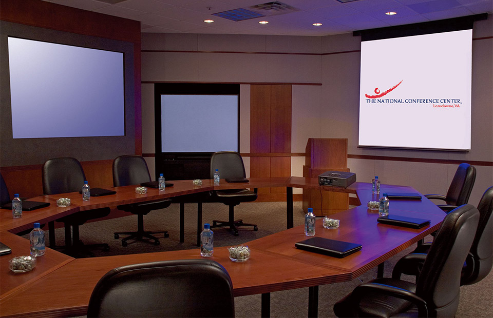 National Conference Center professional meeting room