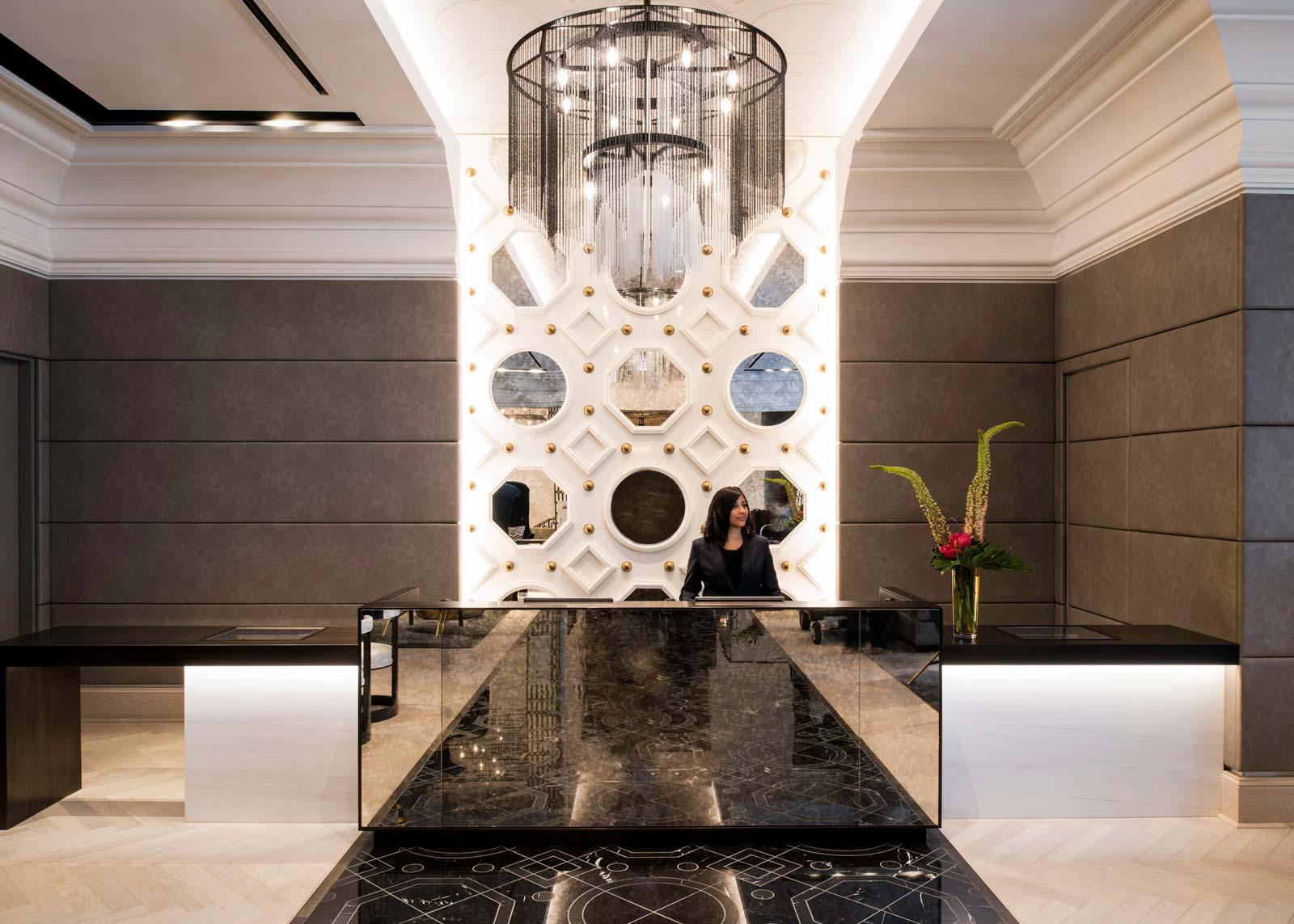 LondonHouse Chicago Front Lobby Desk