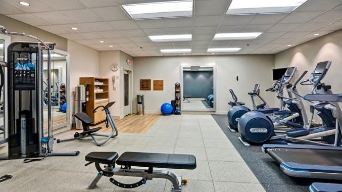 Wilmington Double Tree fitness center