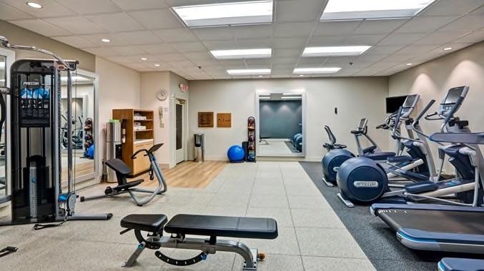 Wilmington Double Tree fitness center