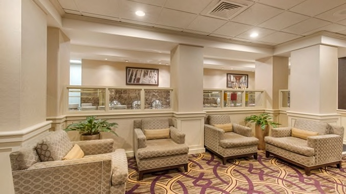 Wilmington double tree lobby chairs