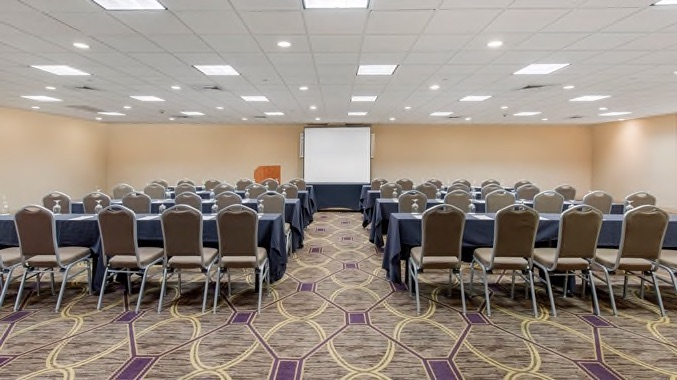 Wilmington Double Tree meeting and theater hall