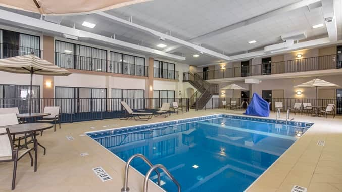 Wilmington Double Tree Indoor pool