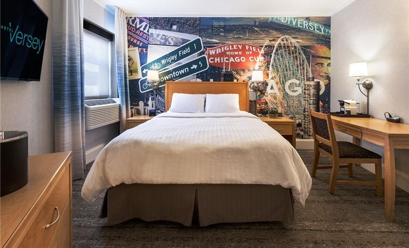 Hotel Versey one bed guest room