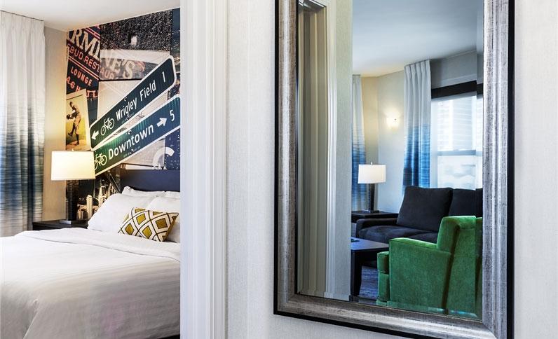 Hotel Versey standard guest suite