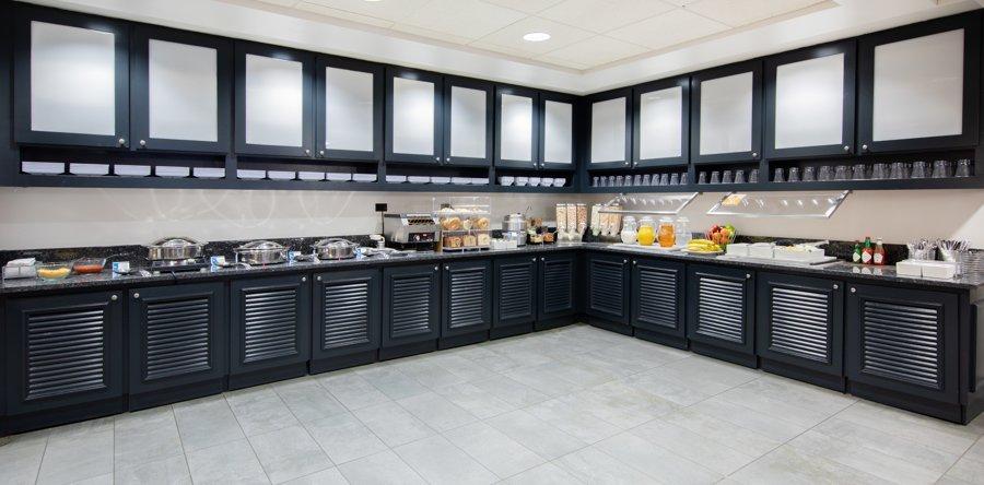 Hyatt House buffet breakfast