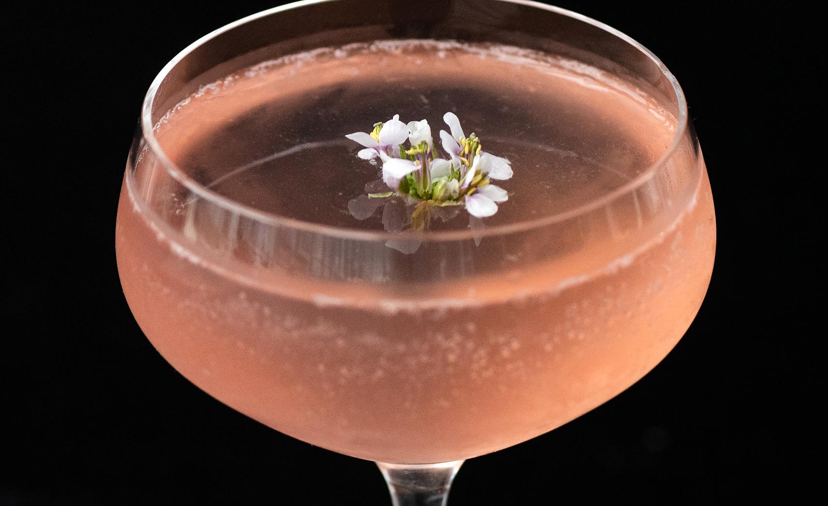 CBD cocktail IO drink menu