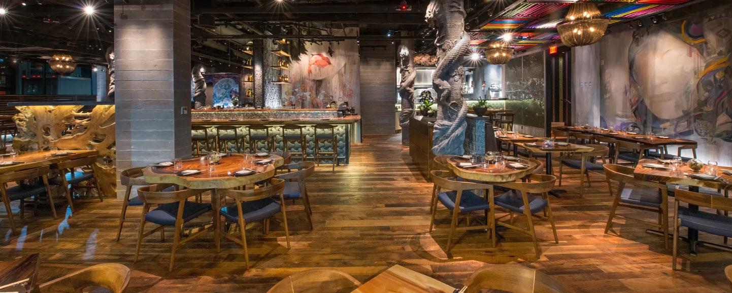 Ruka Resto Bar Dining Area
