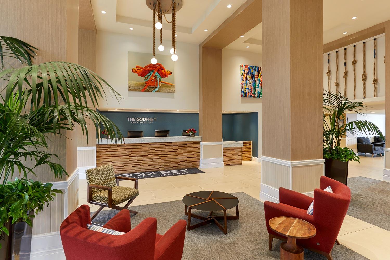 godfrey tampa lobby