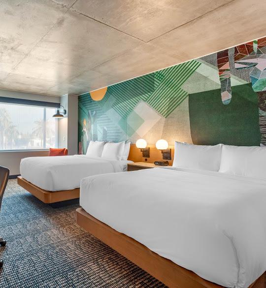 Cambria guest room