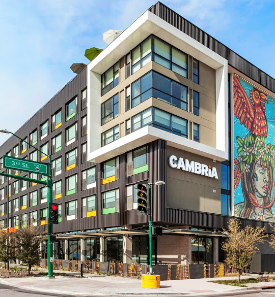 Cambria downtown exterior