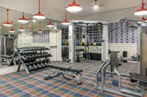 Hotel Audrey fitness room