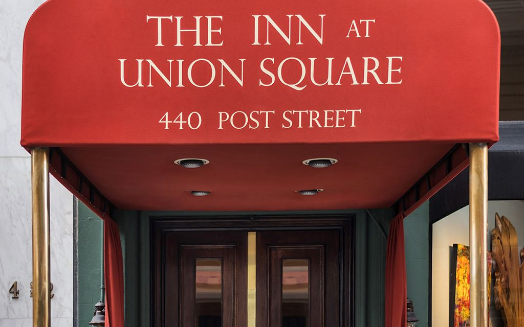 The Inn at Union Square awning